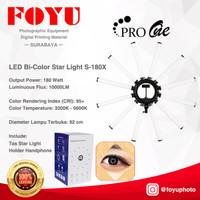 LED Bi-Color Star Light X Lamp Sun Lamp Ring Light Star Pro One S-180X