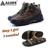BUNDLING Sepatu Alope F 07 Free Sandal Alope H 06 Sepatu Boots sandal