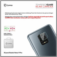 Xiaomi Redmi Note 9 Pro - Copper Tempered Glass Kamera