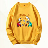 Baju sweatshirt Among-Us terbaru-Kaos Pria Lengan Panjang kekinian