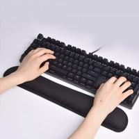 Keyboard Wrist Pad Bantalan Tangan Memory Foam Mouse Pad Gel Square