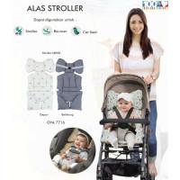Omiland Alas Stroller/ Bouncer/ Car Seat Bahan lembut motif Panda
