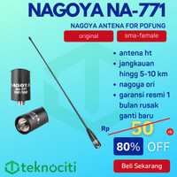 NAGOYA NA-771 SMA-F Antena HT / Walkie Talkie Female Antenna Pofung