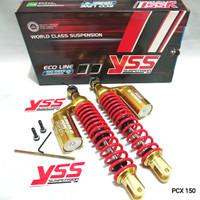 SHOCK YSS NEW G PLUS PCX 350MM GOLD SERIES - ORIGINAL YSS THAILAND
