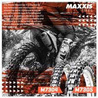 Ban Trail Motocross Maxxis 110/100-18 + 80/100-21 -- Paket Hemat