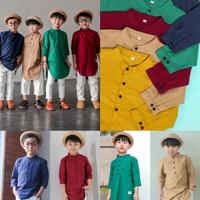 baju koko anak laki laki baju ngaji Kurta Rayhan 1 tahun - 5 tahun