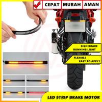 LAMPU LED STRIP FLEXIBLE REM STOP SEIN LED BRAKE LAMP FLEXIBLE 17 CM
