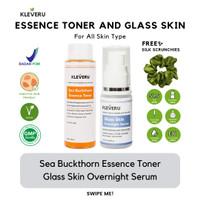 KLEVERU Sea Buckthorn Essence Toner dan Glass Skin Overnight Serum