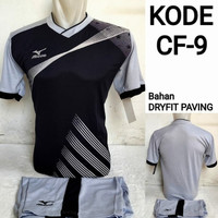 1 lusin/12 set baju kaos olahraga jersey stelan futsal voley bola CF-9