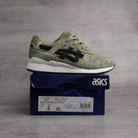 sneakers assic gell lyte III x foot green import premium