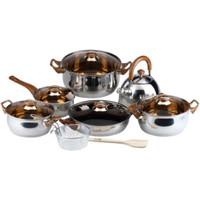 Oxone Eco Cookware Set Panci OX-933 - Cokelat