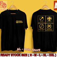 Baju Kaos Distro Mobile Legend Tshirt Atasan Pria Kaos Moba Terbaru