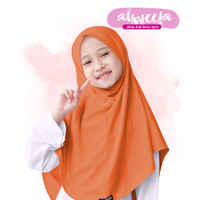 Cutemoslem Alsyeefa-Jilbab Syria Anak L - Orange