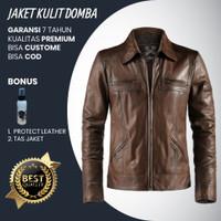 Jaket Kulit Asli Domba Garut Pria Original Murah Bagja Leather 002
