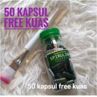 Masker Spirulina isi 50 Free Kuas