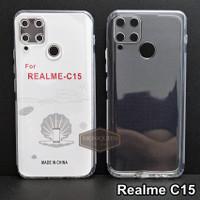 Case Realme C15 PREMIUM CLEAR SOFT CASE Bening Transparan