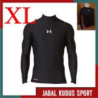 Baju Manset Baselayer Daleman Lengan Panjang Olahraga Ukuran Besar XL