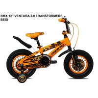 Sepeda Anak BMX Pacific Ventura Transformer Bumblebee 3.0 12 inch