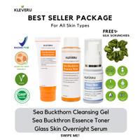 Best Seller Package - Cleansing Gel, Essence Toner dan Glass Skin