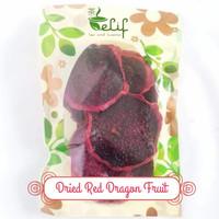 Organic Dried Red Dragon Fruit / Buah Naga Merah Slice Kering - 50 gram