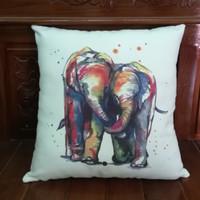 bantal sofa elephant in love