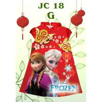 dress cheongsam qipao elsa frozen import anak