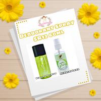 Deodorant spray sr12/alami penghilang bau badan/ ketiak sr 12 bpom
