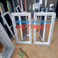 ready stok jendela aluminium 50x100 murah