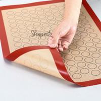 Silpat Macaron Baking Silicone Mat Non-stick Baking Pad - Besar 40x60 cm