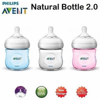 Philips Avent Bottle Natural 125ml White Botol Susu Bayi - Putih