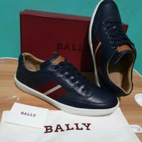 sepatu pria bally oriano original bekas size 10
