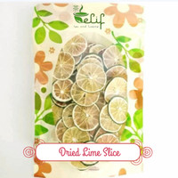 Dried Lime Slice : Dried Lime Fruit, Jeruk Nipis Kering 50 gram