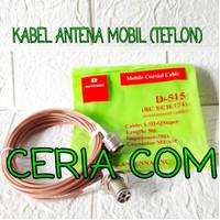 KABEL TEFLON ANTENA RADIO RIG MOBIL KABEL RADIO RIG TEPLON 5 METER