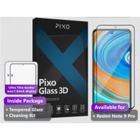 Tempered Glass Xiaomi Redmi Note 9 Pro Pixo 3D Full Cover SP Anti Gore