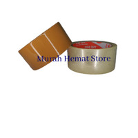 LAKBAN BENING / COKLAT SUPER MURAH COKLAT PROMOOO!!(45MM X50Y) /ROLLL