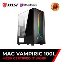 Casing MSI MAG Vampiric 100L ATX USB 3.2 - Casing Gaming MSI Vampiric