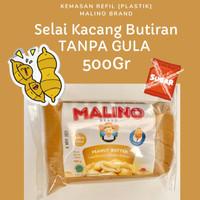 Selai Kacang Peanut Butter MALINO BRAND . Selai Kacang DIET KETO Refil