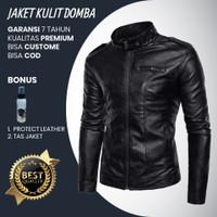 Jaket Kulit Asli Domba Garut Pria Original Murah Bagja Leather 006