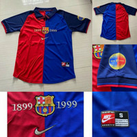 Jersey Baju Bola Barca Home Retro Big Size XXL Tahun Musim 1899 1999