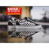 Sepatu promo Sepatu Vans Authentic 17 White Black catur Import