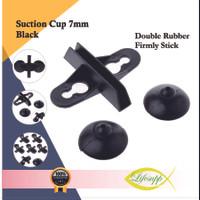 Suction Cup 7mm Sekat Partisi Aquarium Divider Partition Black