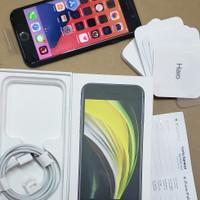 iPhone SE 2nd Generation 64GB Black Resmi iBox PA baru sebulan