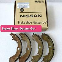 Kampas Rem Belakang Brake Shoe Datsun Go 1 Set