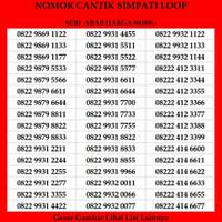 Nomor Cantik Simpati Loop Telkomsel 4G Kartu Perdana AAAXX Murah RAPIH