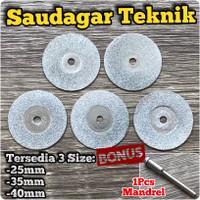 Mata Diamond Mata Potong Gerinda Mini Cutting Disc Mini Grinder