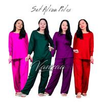 Babydoll Bali   Piyama Motif   Baju Tidur Setelan Adem Motif BBD150 - MIX COLOR