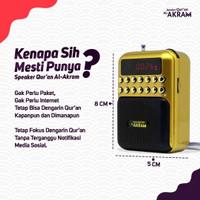 Speaker Quran Al Akram Mini Speaker Audio Murottal