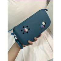 Crocs Wristlet / Hand Bag FREE Jibbitz Hello Kitty & Mickey Mouse
