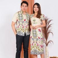 BM - CNY Special Set Couple Kemeja Dress Baju Pasangan Imlek PTB