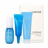 3 PCS Laneige Water Bank Gel Cream Moisture Essence Eye Gel Trial Kit
